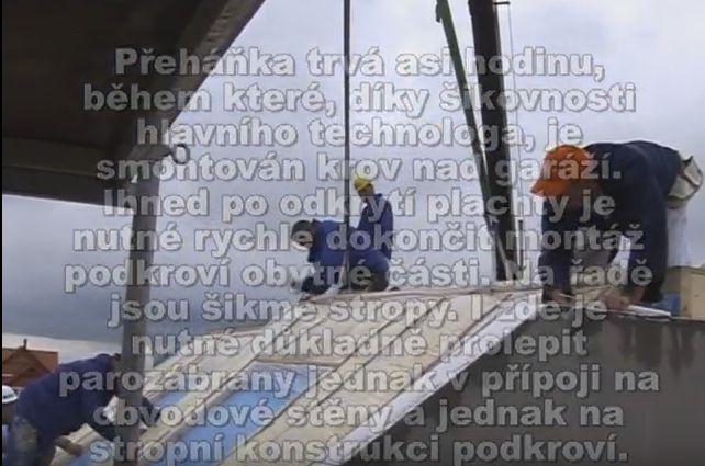 Pasívny montovaný dom Nova 101 – výstavba krok za krokom – 19 videí